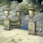 Después de la tormenta - Óleo  Lienzo - 100x81 cm - 1997