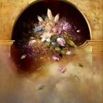 Espacio místico - Óleo  Lienzo - 100x81 cm - 1998