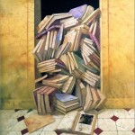 The door of the memory - Óleo  Lienzo - 195x132 cm - 2001