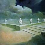 Entre el día y la noche - Óleo  Lienzo - 81x100 cm - 1990